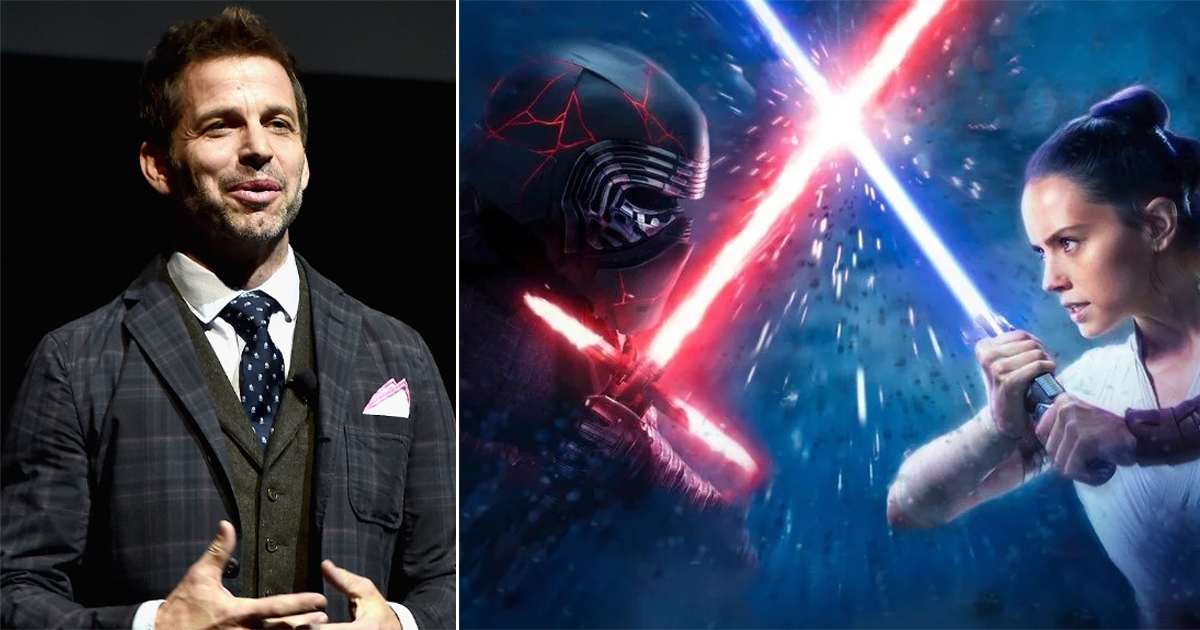 Zack Snyder To Direct An Upcoming 'Star Wars 'Film?