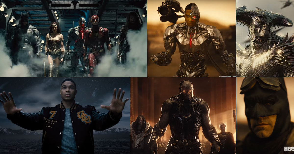 Zack Snyder's Justice League Is The Much Awaited Snyder Cut Fans Have Been Looking Forward To
