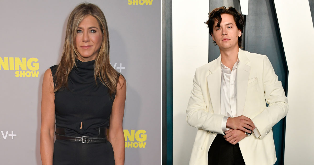 """Cole Sprouse On His Fanboy Moment With Jennifer Aniston On Friends: """"I Would Just Forget & Be Looking At Her"""""""