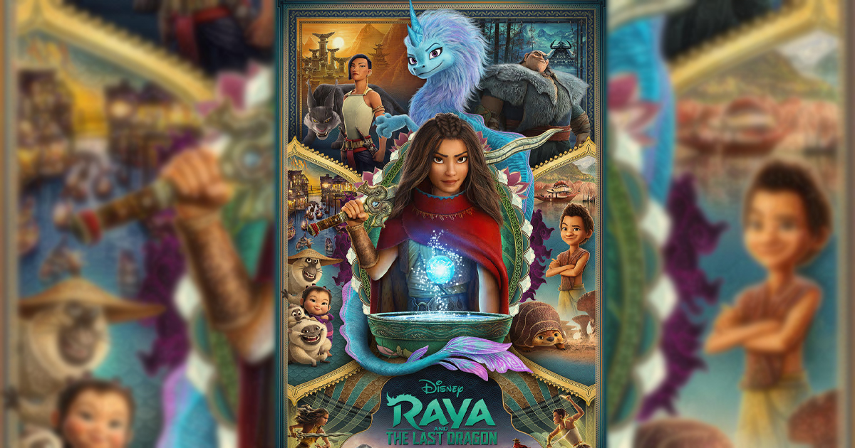 5 must-know things before you watch Disney's most-awaited movie this year - Raya and The Last Dragon