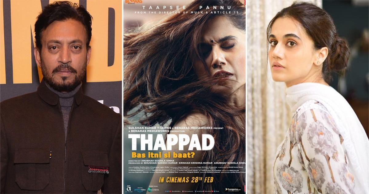 66th Filmfare Awards 2021: Irrfan Khan Wins Two Awards Post Death, Thappad Wins Maximum Awards