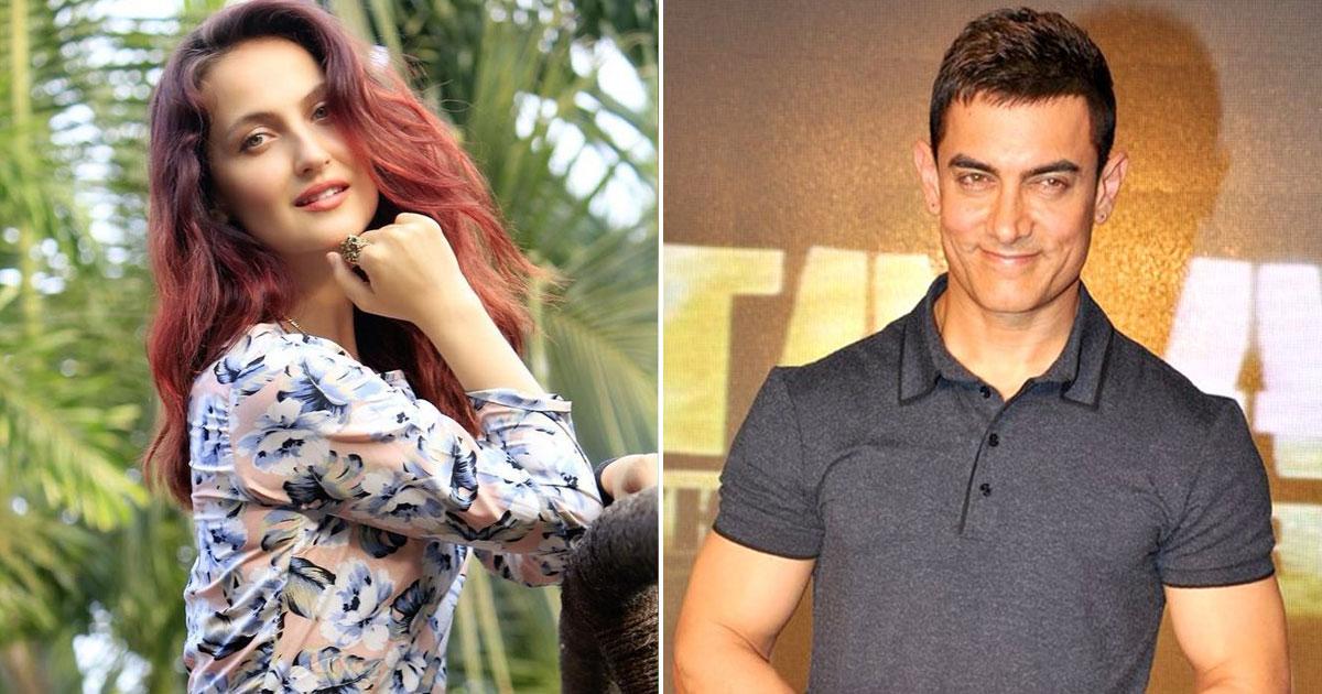 Aamir Khan & Elli AvrRam's Romantic Pic Goes Viral