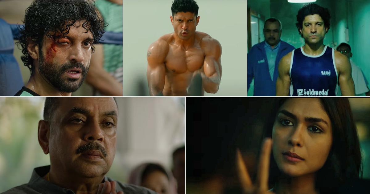 Toofaan Teaser Out! Farhan Akhtar, Mrunal Thakur & Paresh Rawal's Film Is Worth A Blockbuster At The Big Screens