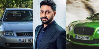 Abhishek Bachchan & His Love For German Automotive Marque - He Owns Bentley Continental GT, Audi 8L & More!
