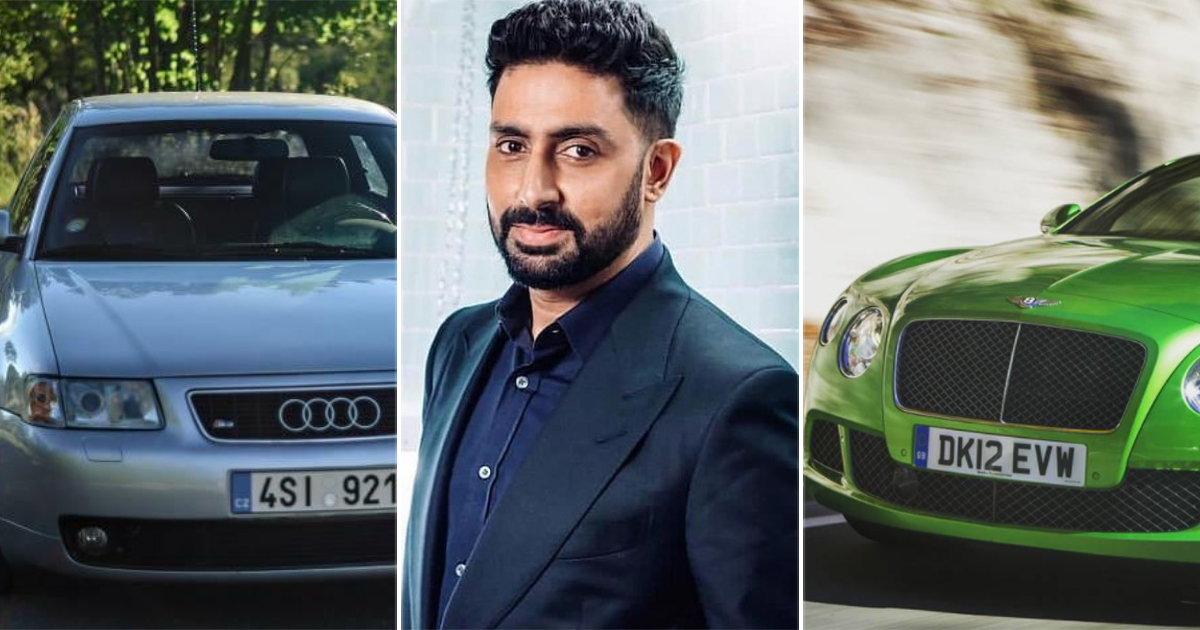 From Bentley Continental GT & Audi 8L: Take A Look At Abhishek Bachchan's Exotic Car Collection