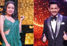 Aditya Narayan & Neha Kakkar Dance Together On Indian Idol 12 Sets