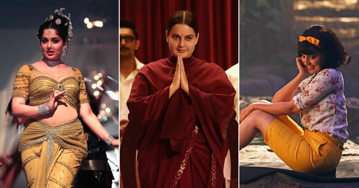 Ahead of Thalaivi trailer launch, Kangana Ranaut shares glimpses from her massive transformation for the film