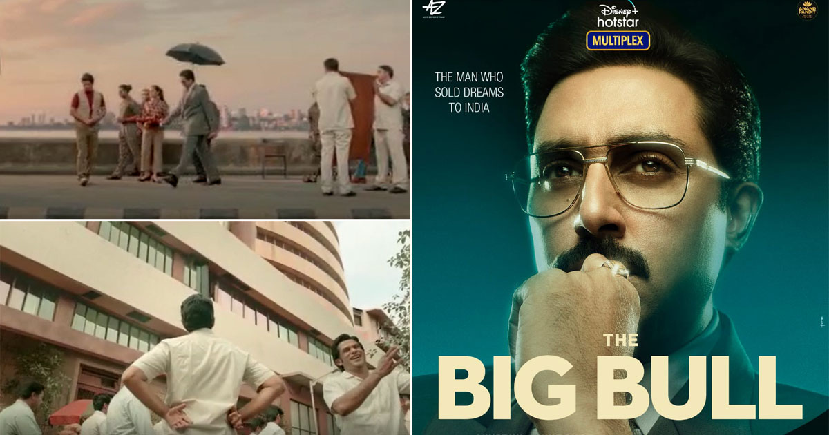 The Big Bull Teaser Out! Abhishek Bachchan & Ajay Devgn Collaborate To Narrate The Tale Of Harshad Mehta & His Scams