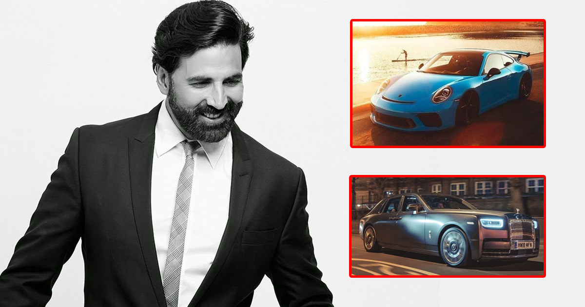 Akshay Kumar's Luxurious Car Collection Includes Rolls Royce Phantom, Porsche Cayenne & Few Of The Most Stylish Beasts Available Around!