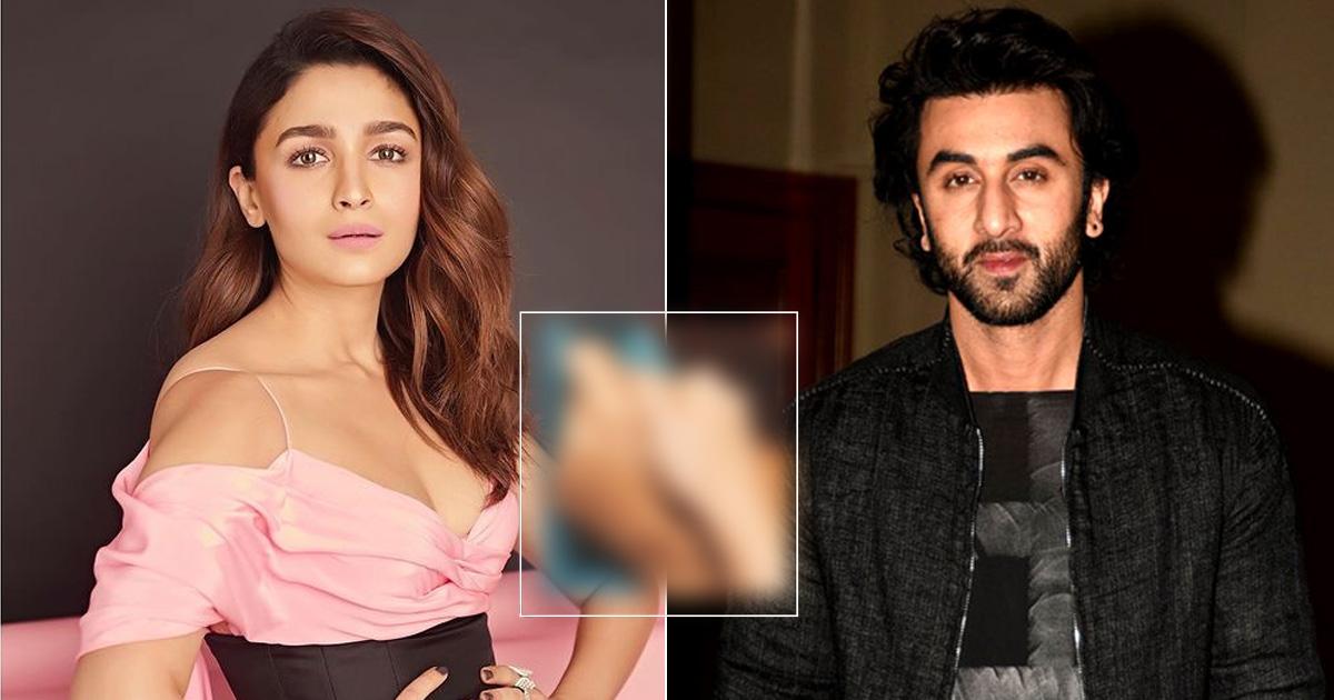 Alia Bhatt Posts A Mushy Picture With Ranbir Kapoor