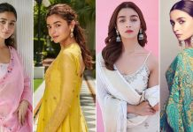 Alia Bhatt's Indian Fashion Game Is On Point & These Sarees, Suits & Lehenga Looks Are Testimony
