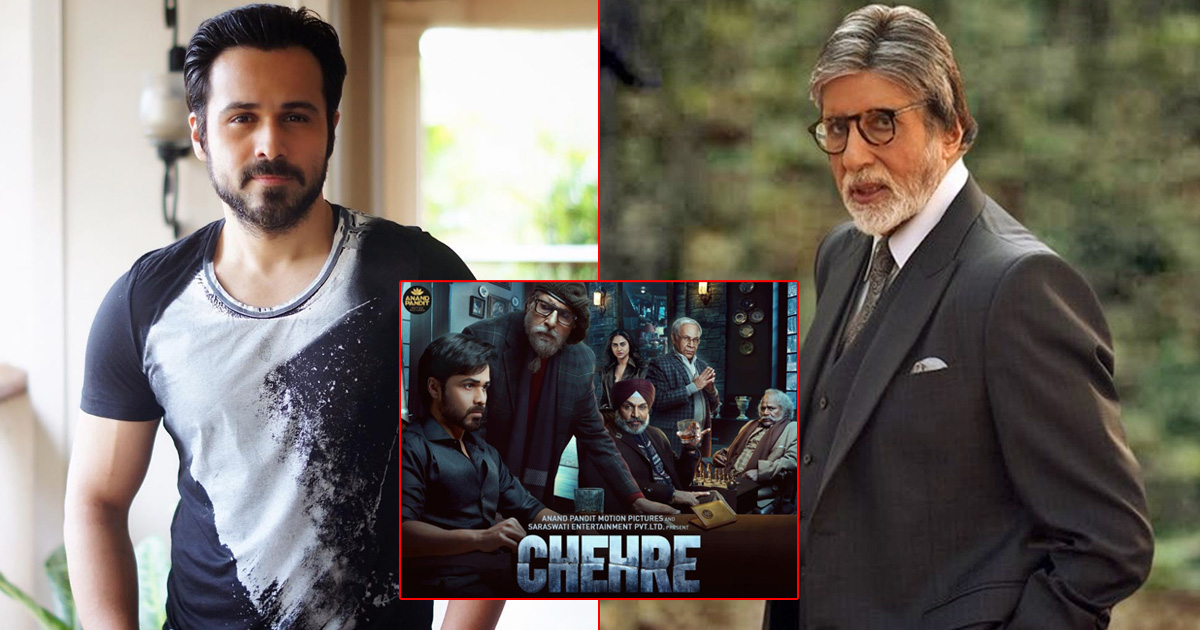 Chehre Teaser Out! Amitabh Bachchan & Emraan Hashmi Set The Mood With Their Intriguing Voice, Unveils New Release Date
