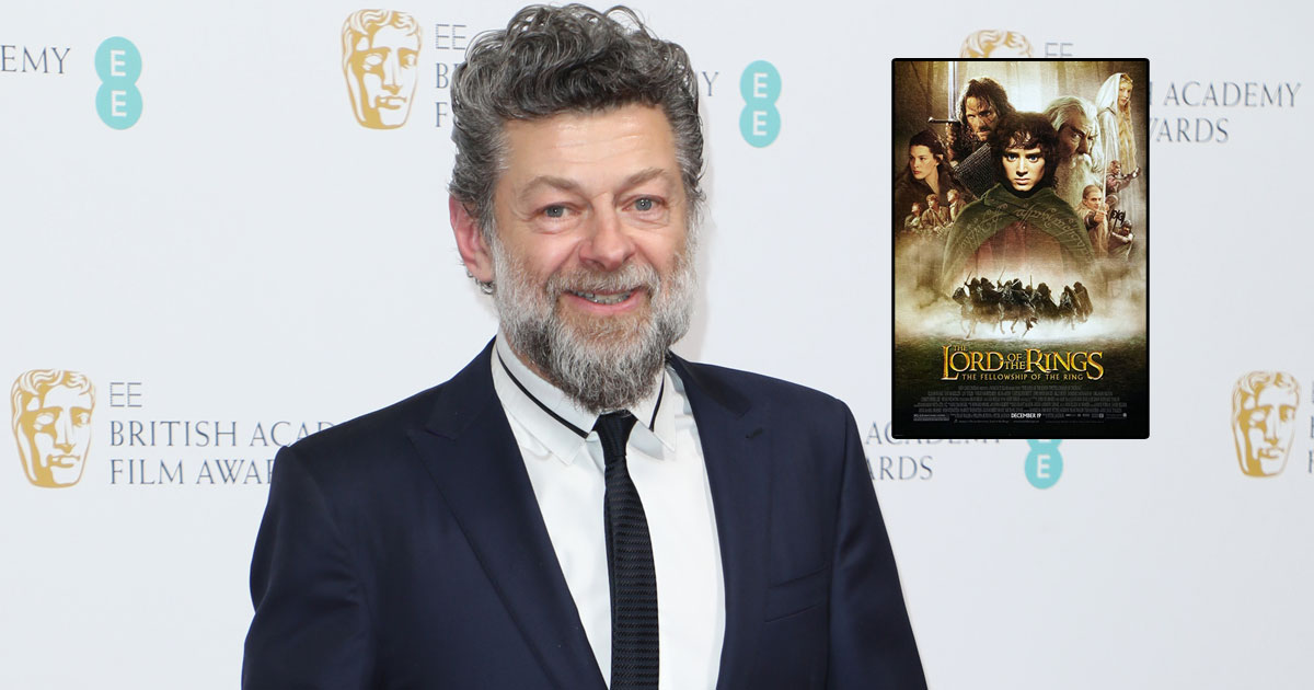 Andy Serkis walked on all fours on 'The Lord Of The Rings' set
