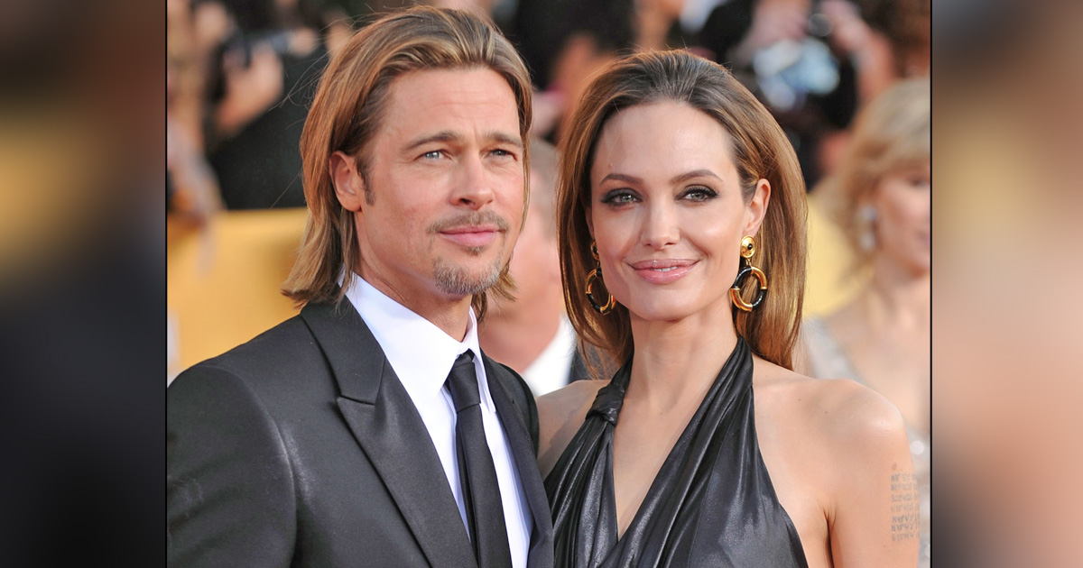 Angelina Jolie Accuses Brad Pitt Of Domestic Violence