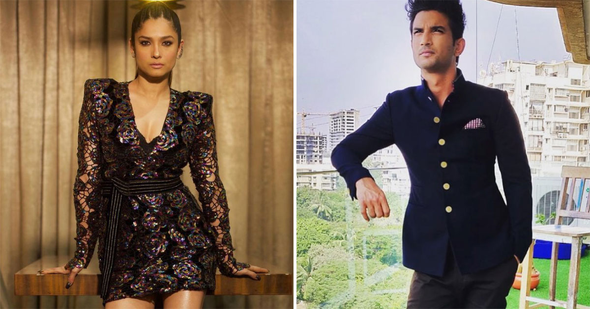 Ankita Lokhande Does Not Have The Guts To Write RIP On Sushant Singh Rajput's Photos
