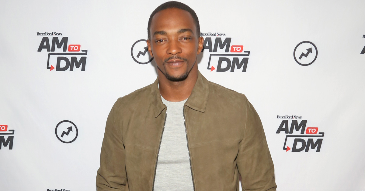 Anthony Mackie on why Falcon didn't take Captain America's shield