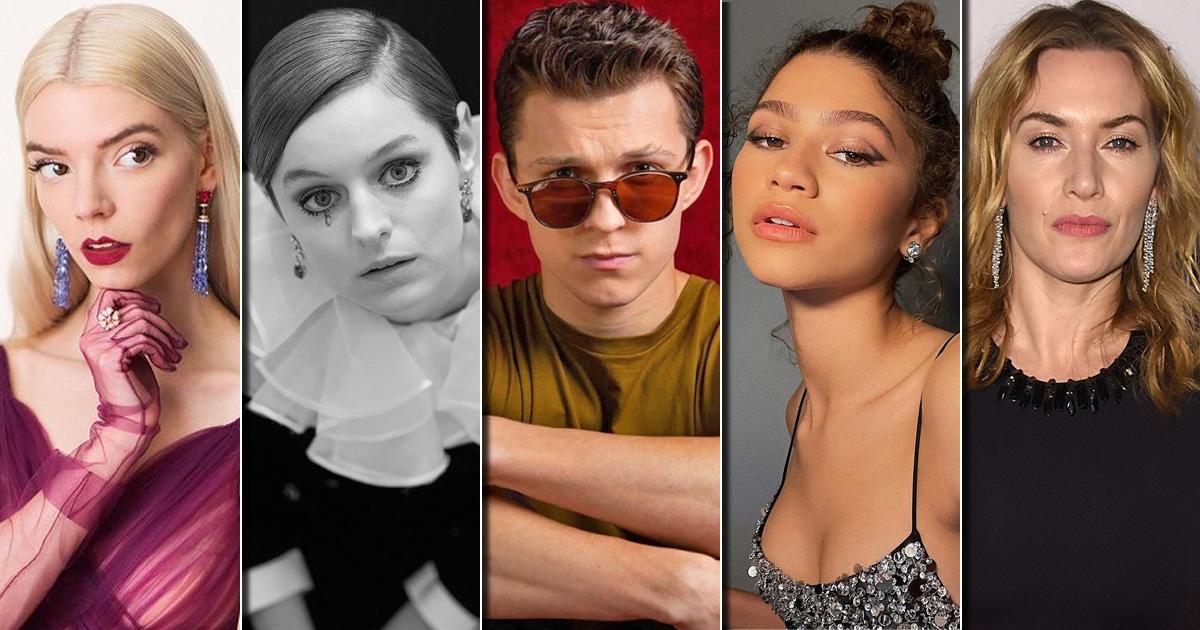 Anya Taylor, Kate Winslet, Zendaya, Emma Corrin & Tom Holland - British Vogue Nails Their Annual Hollywood Portfolio, Check Out
