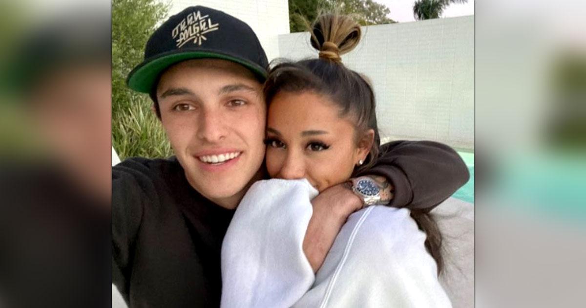 Ariana Grande enjoys rare night-out with fiance Dalton Gomez