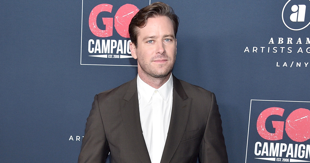 Armie Hammer Loses Another Film Role Amid Ongoing Sex Scandal