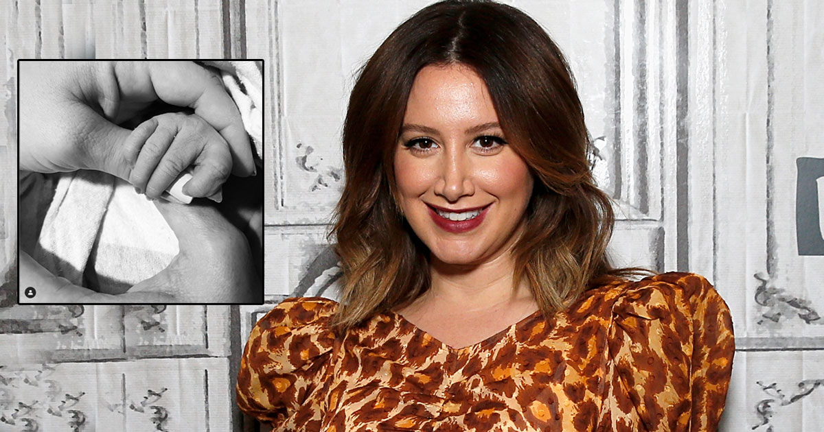 Former High School Musical Star Ashley Tisdale Welcomes A Baby Girl!