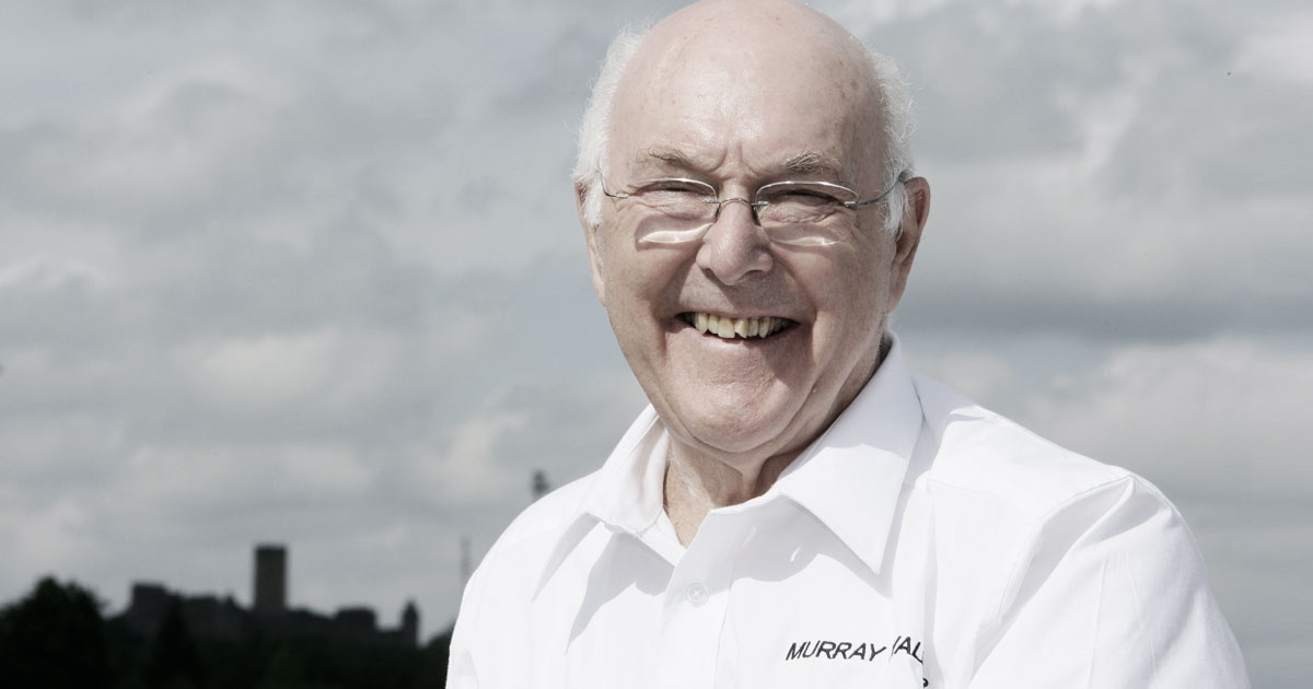 BELOVED VOICE OF FORMULA 1 MURRAY WALKER DEAD