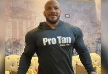 Big Ramy Shares Meal Pic