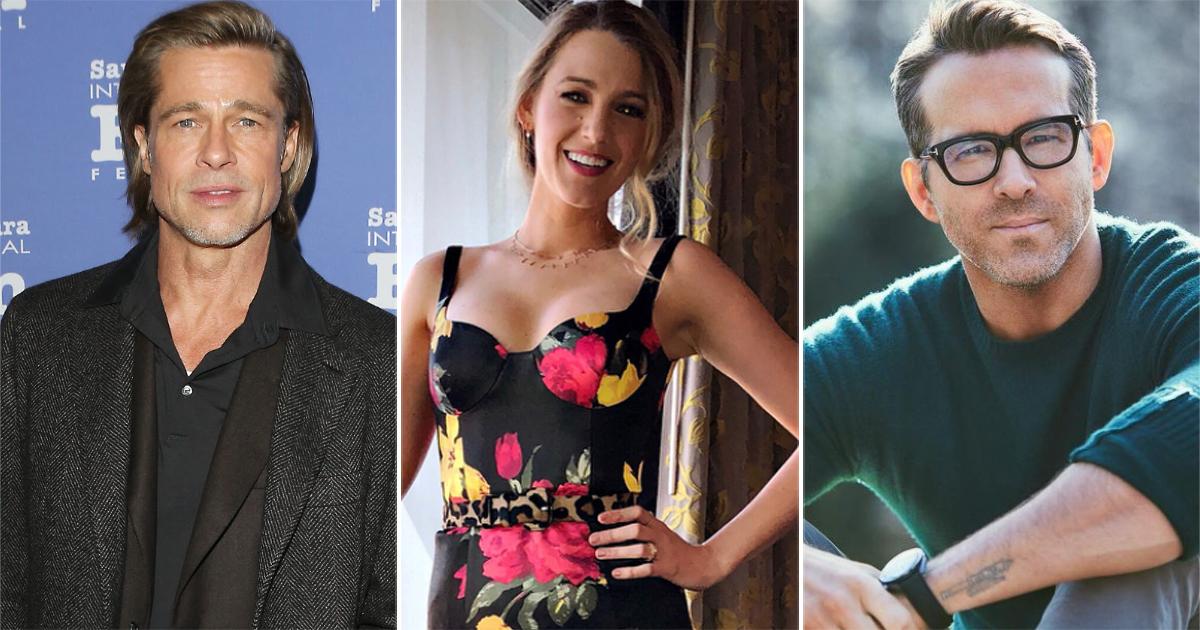 Blake Lively Jokes About Ryan Reynolds Not Inviting Her On Deadpool 2 Sets For Brad Pitt's Cameo Shoot