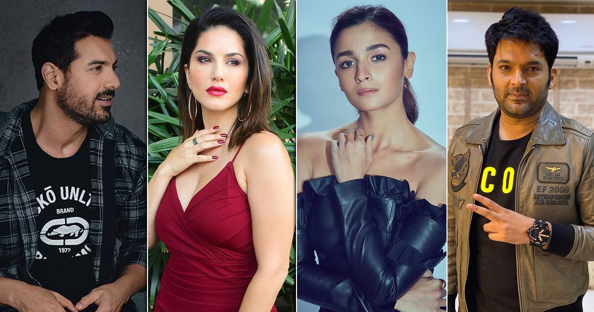 Alia Bhatt, Sunny Leone To John Abraham - Actors Who Ditched Buying Pets To Promote Adoption
