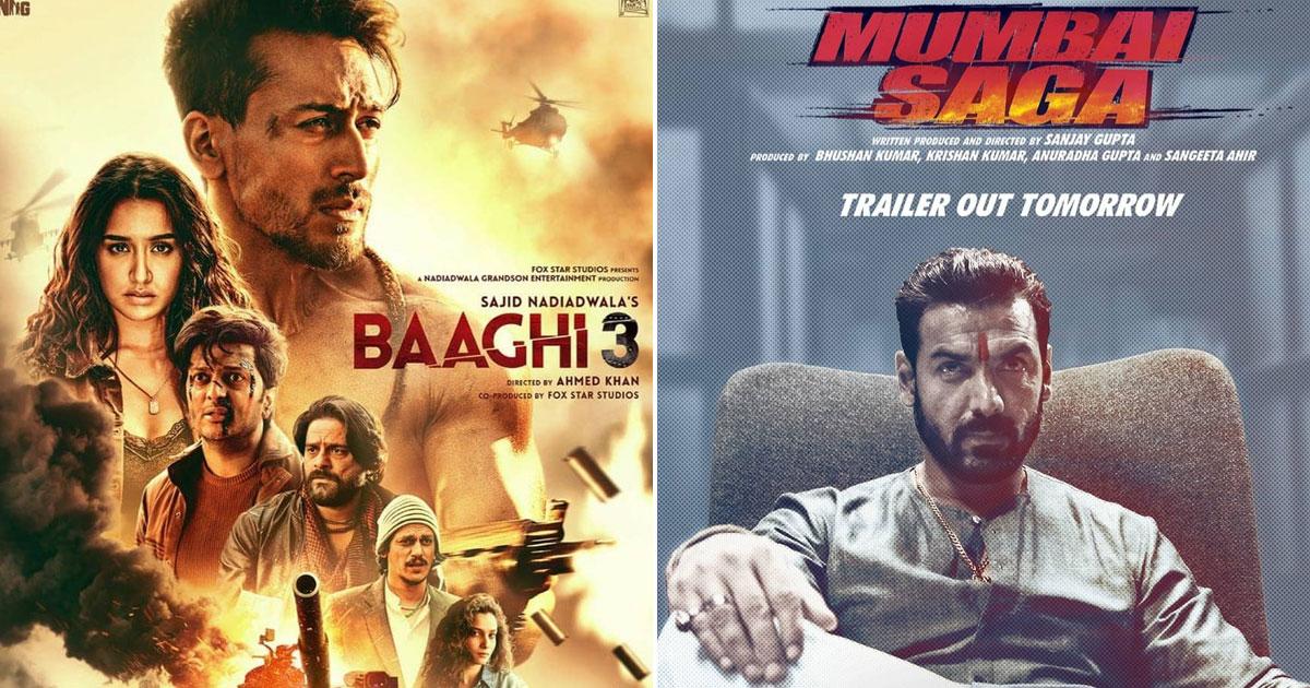 Box Office predictions - John Abraham's Mumbai Saga to take the best opening at theatres since Baaghi 3