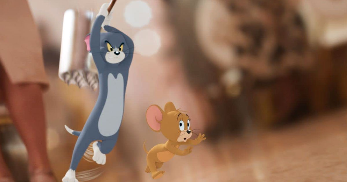 Box Office: 'Tom & Jerry' Opens to Surprisingly Strong $13.7 Million, Giving Movie Theaters Hope