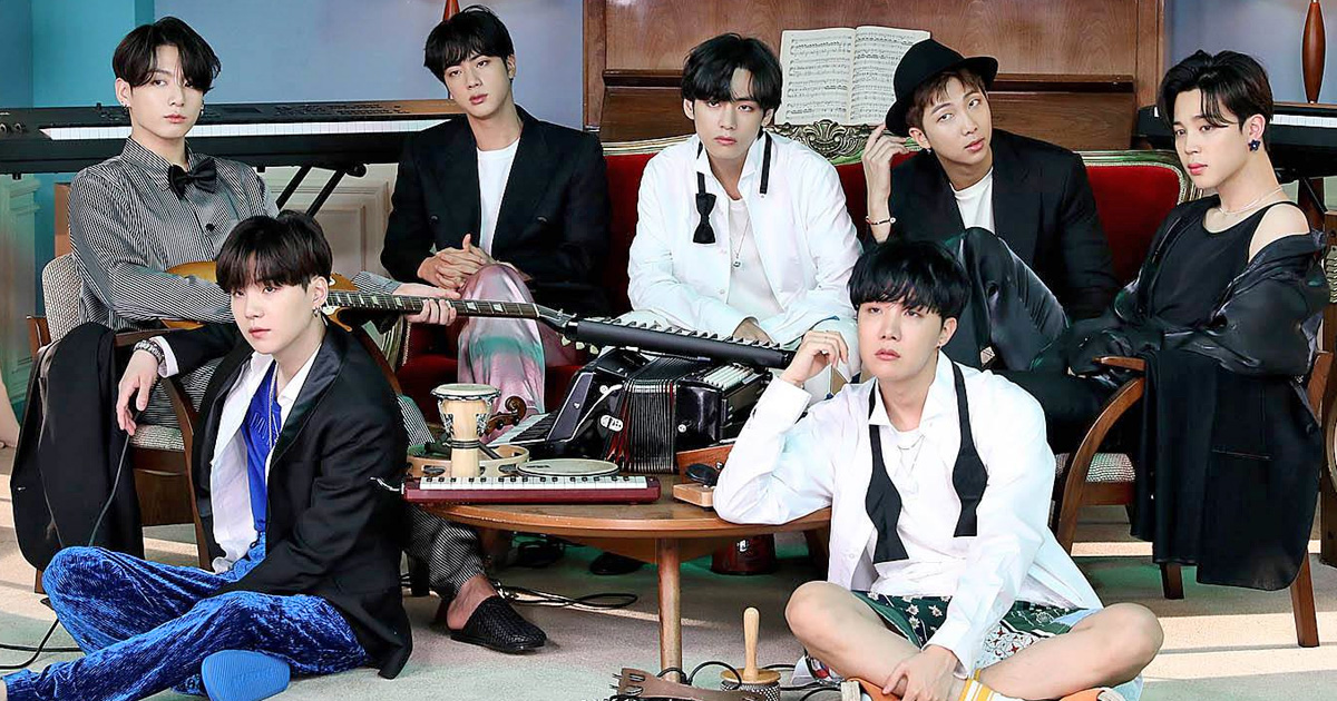 BTS SCORE GLOBAL CHART AWARD