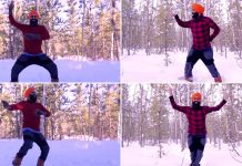 Canada's dancing Sikh has bhangra therapy to beat sub-zero cold!