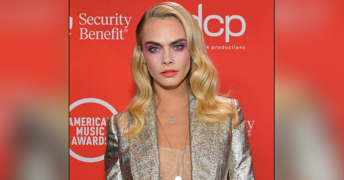 CARA DELEVINGNE STRUGGLED WITH SEXUALITY WHEN SHE REALISED SHE WASN'T STRAIGHT