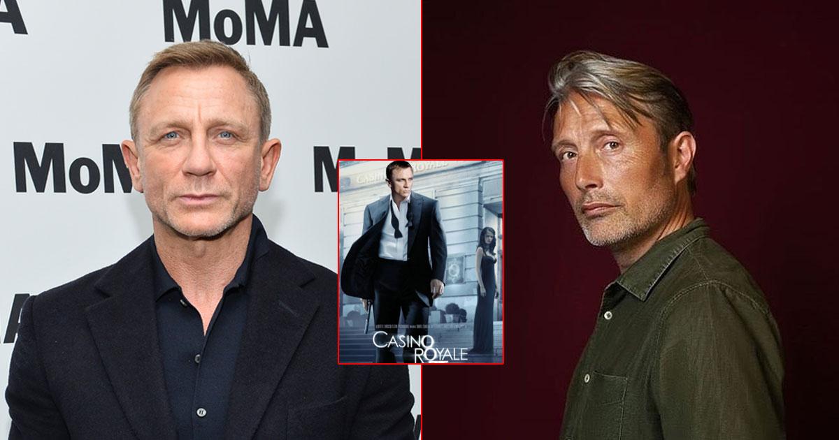 Casino Royale Reunion Daniel Craig Mads Mikkelsen On Bond Nerves That Naked Chair Scene