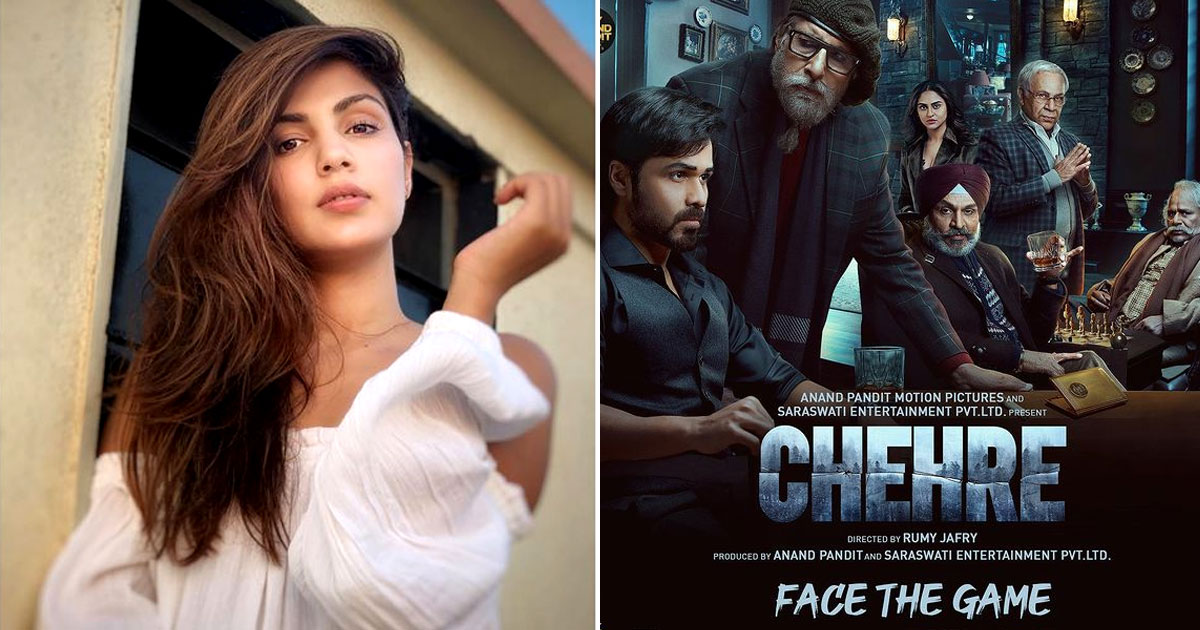 Chehre: Makers Discuss Rhea Charaborty's Presence During The Promotions