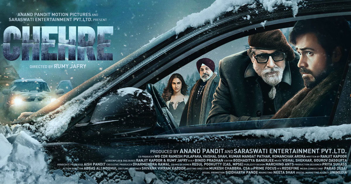 Chehre Teaser Starring Amitabh Bachchan & Emraan Hashmi To Release On 11th March