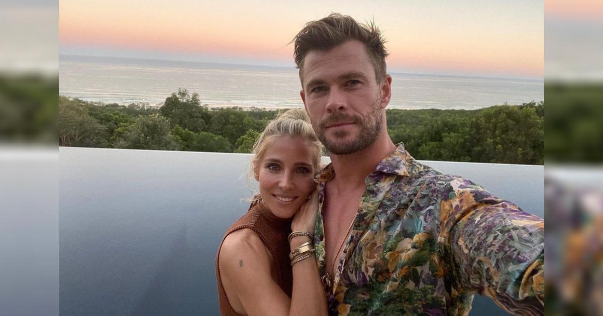 Elsa Pataky Pushes A Heavy Sled Proving She's No Less Stronger Than Thor AKA Hubby Chris Hemsworth