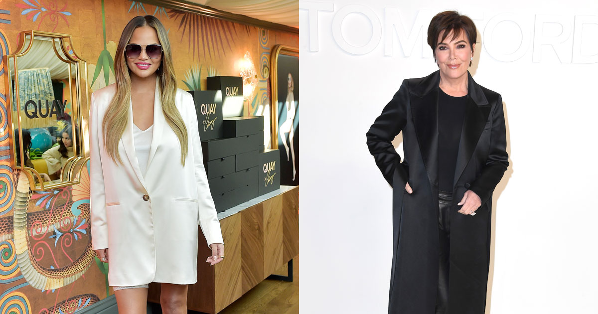 Chrissy Teigen & Kris Jenner Team Up To Launch Their Own Line Of Home Cleaning & Self-Care Items