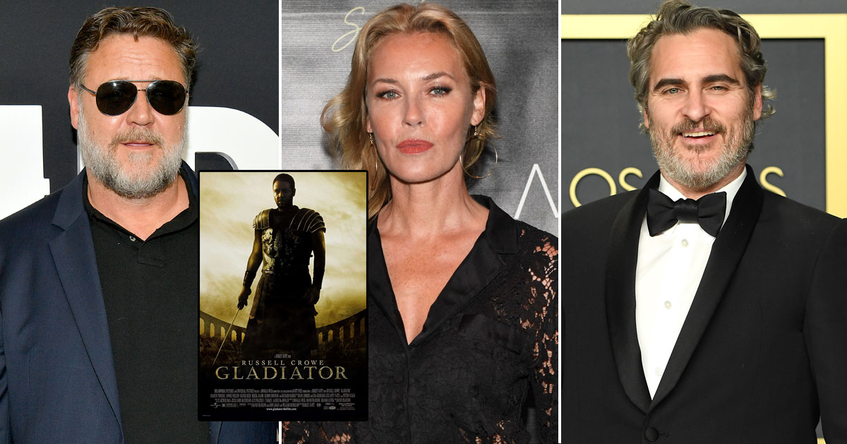 Connie Nielson on working with Russell Crowe, Joaquin Phoenix in 'The Gladiator'
