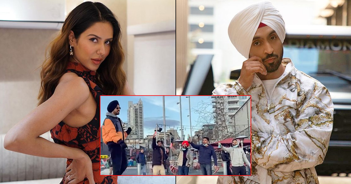 Diljit Dosanjh, Sonam Bajwa's Quirky Spin To 'Pawri' Meme