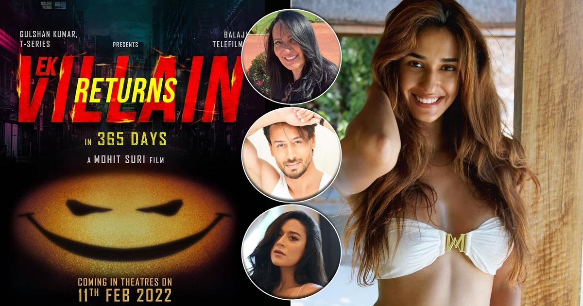 Disha Patani Starts Her Work On Ek Villain Returns, Tiger Shroff & Family Wish Her Good Luck