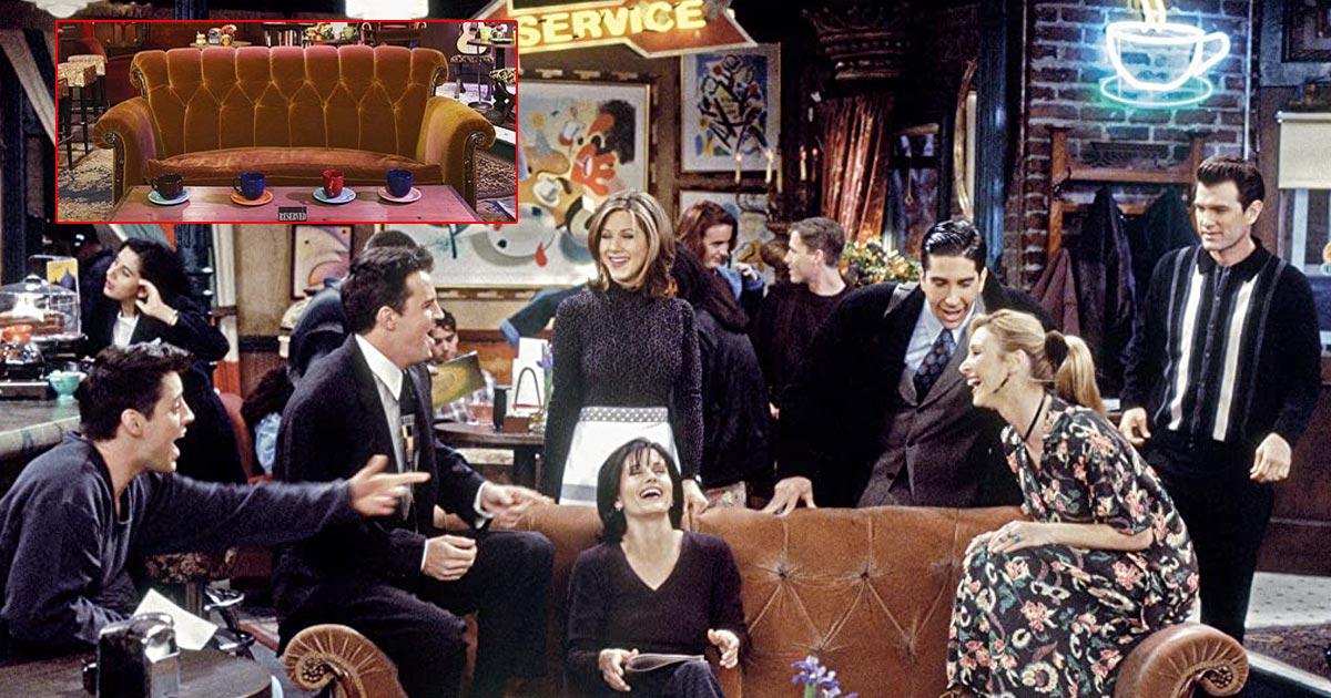 Do You Know From Where The Iconic Orange Couch In FRIENDS Originally Came? Read On.