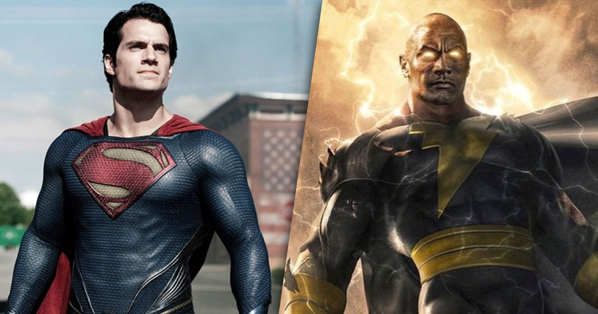 Dwayne Johnson Is Trying Hard To Rope In Henry Cavill As Superman In Black Adam?
