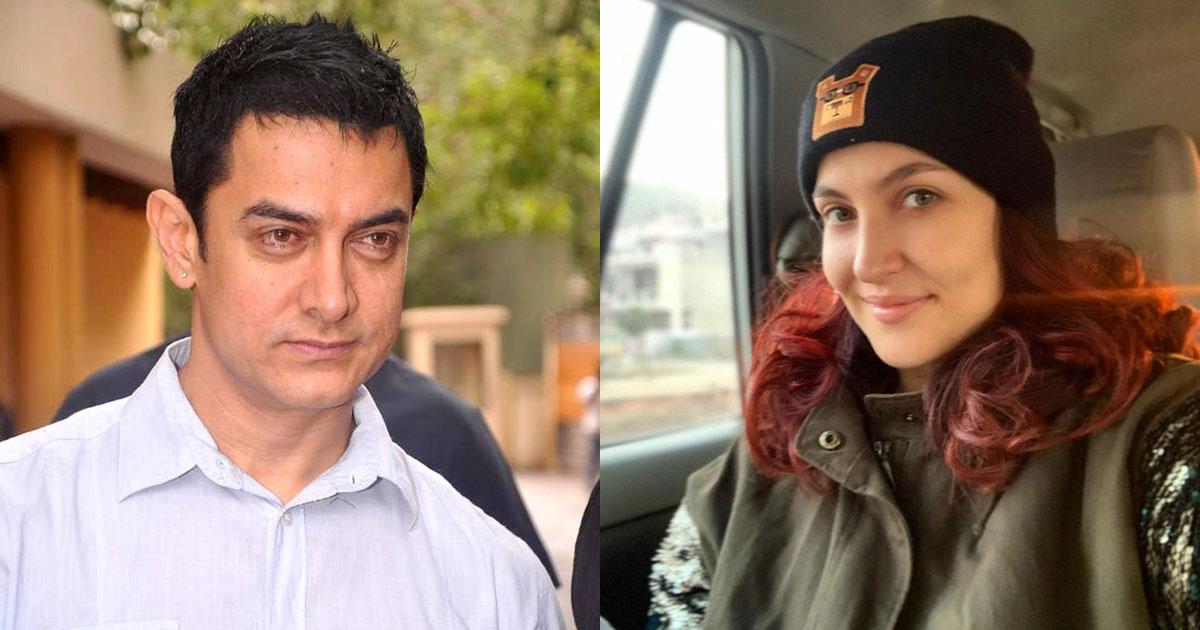 "Elli AvrRam On Shooting Har Funn Maula With Aamir Khan : ""He Never Made Me Feel Intimidated"""