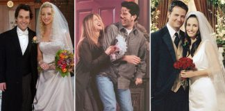 FRIENDS: Phoebe-Mike, Rachel-Ross, Monica-Chandler – Every Wedding Was Special In The Show & Made Us Laugh!