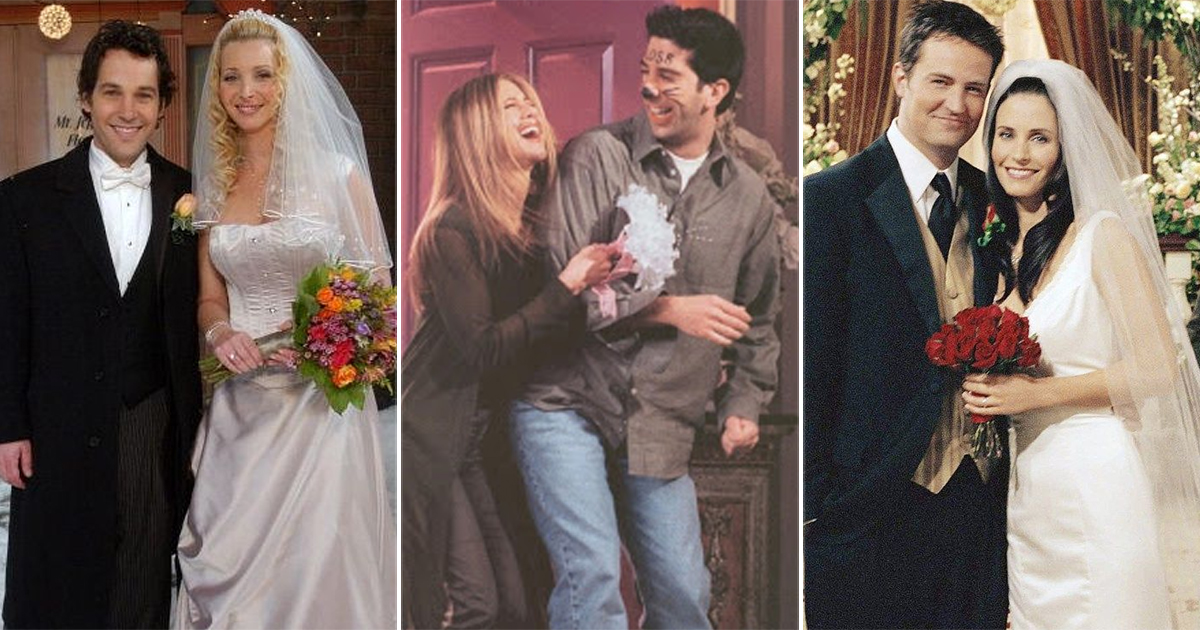 The One With All The Wedding & Why Each Is Memorable