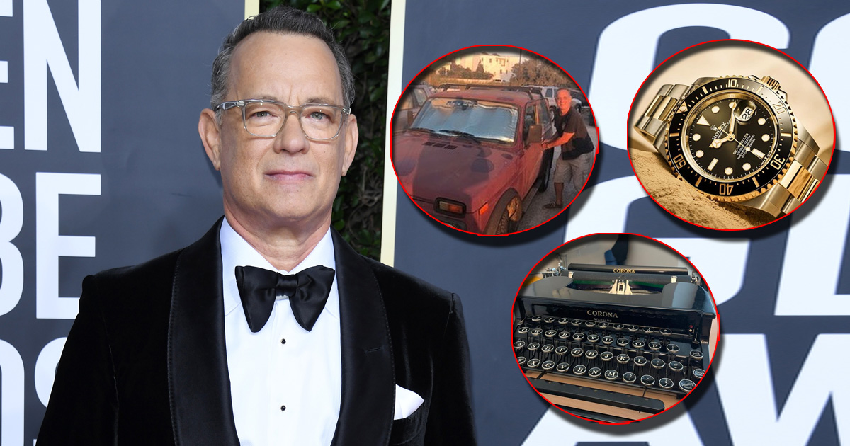 From A Mansion In Malibu To Over 100 Typewriters & An Array Of Expensive Watches – Here's How Tom Hanks Spends His Millions