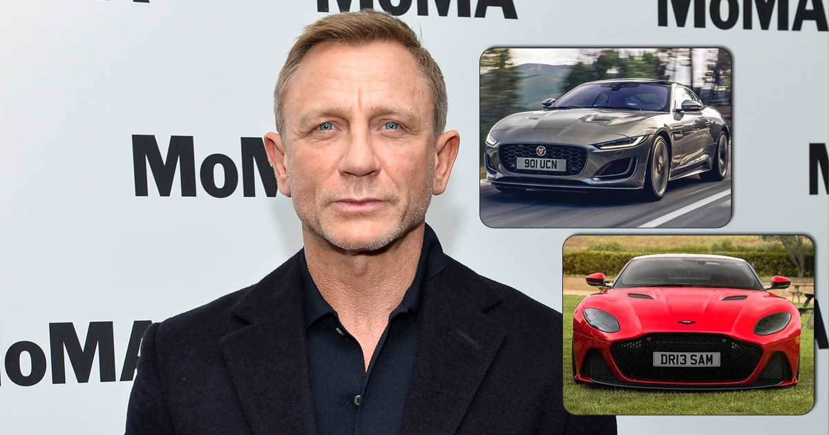 From Aston Martin To Jaguar XJ: Take A Look At Daniel Craig's Exotic Car Collection