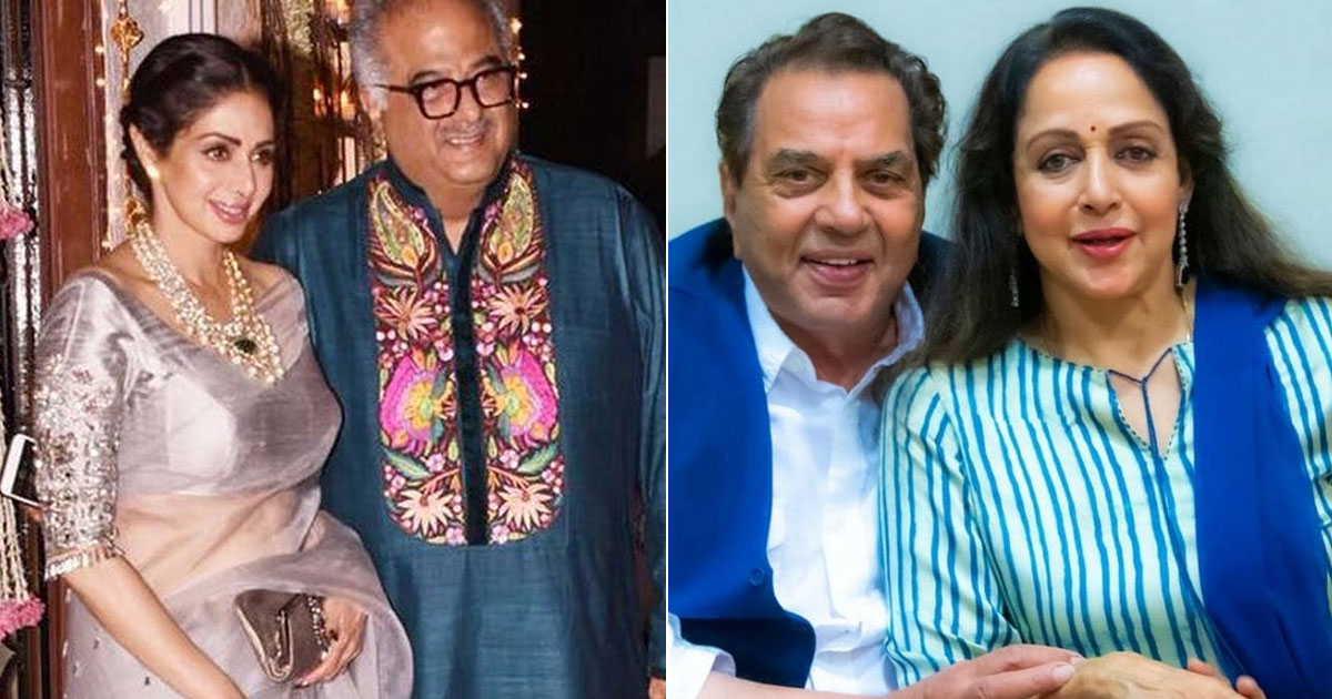 From Hema Malini-Dharmendra To Sridevi-Boney Kapoor - 5 Most Controversial Bollywood Marriages Of All Time, Check Out