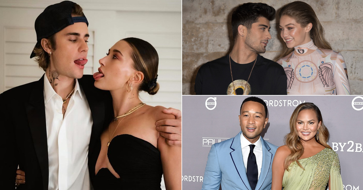 From Justin Bieber & Hailey Baldwin To Chrissy Teigen & John Legend, Meet 5 Hollywood Couples Who Took A Break Before Committing To Each Other For Life